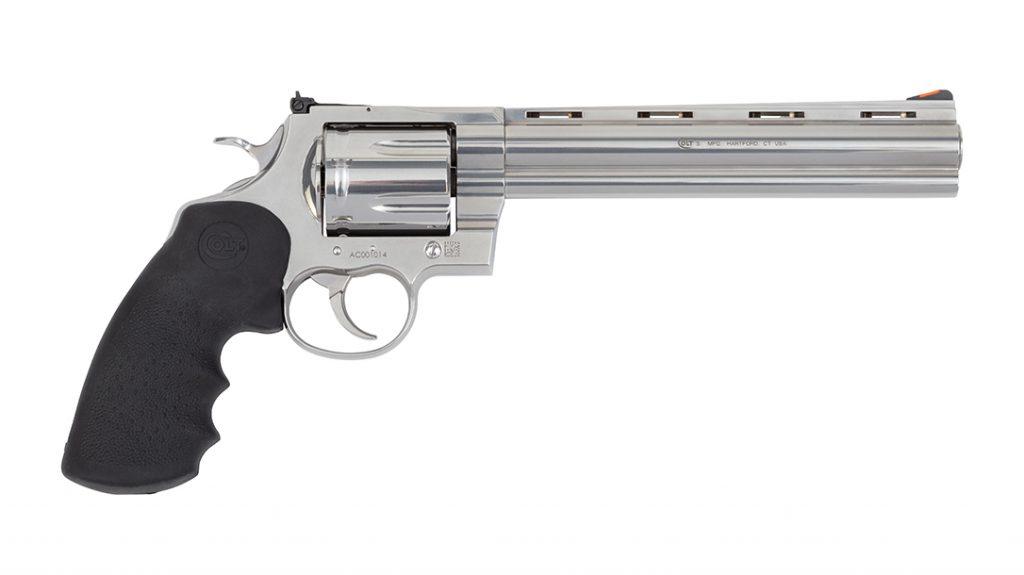 Colt Anaconda revolver 2021, 8 inch barrel, 44 magnum, right