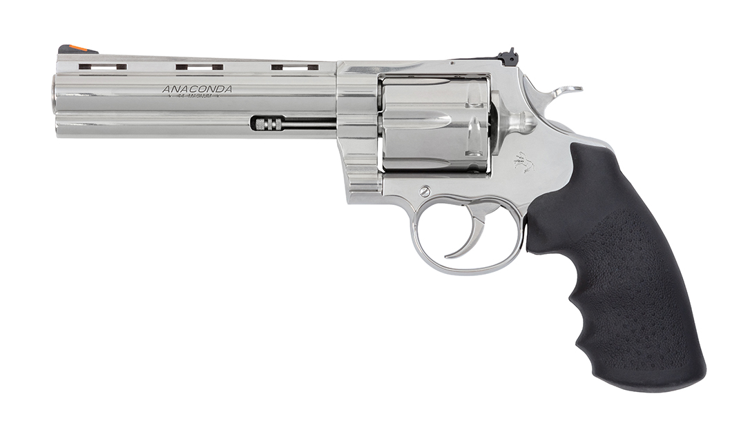 Colt Anaconda revolver 2021, 6 inch barrel, 44 magnum, left