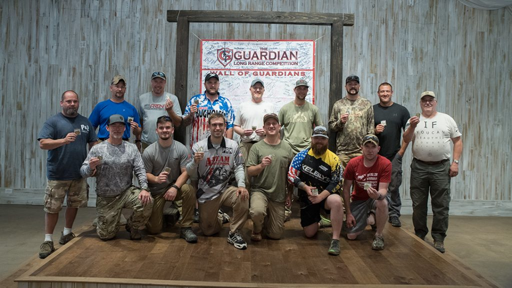 Guardian Long Range competition, precision shooting, awards