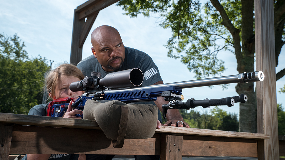 Guardian Long Range competition, precision shooting, lead