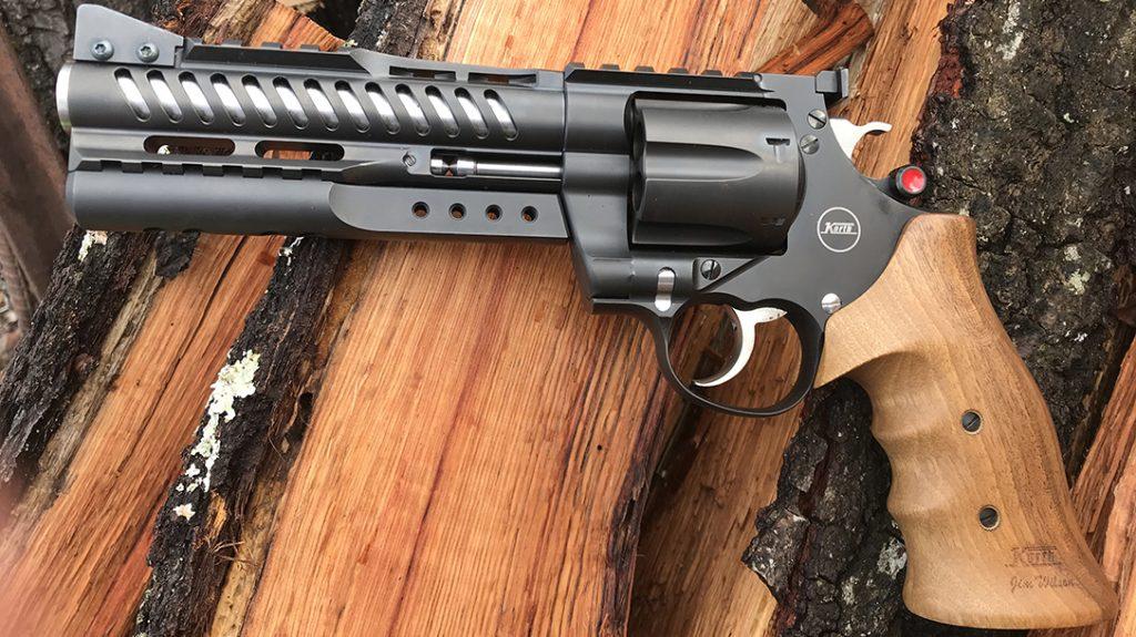 Korth NXR 44 mag revolver, 44 magnum, review, left