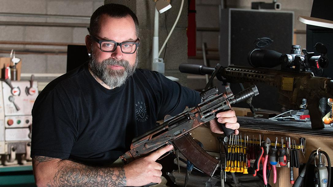 Ronin Arms, Cerakote, Scott Richardson, rifle