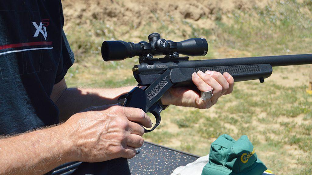 22 rifle, arrow gun, loading