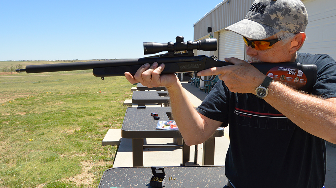 Crackshot XBR: The Traditions 2-in-1 Rifle Fires Arrows and .22