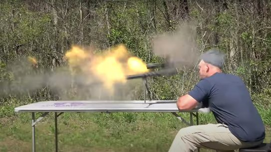 50 cal rifle explodes, kentucky ballistics