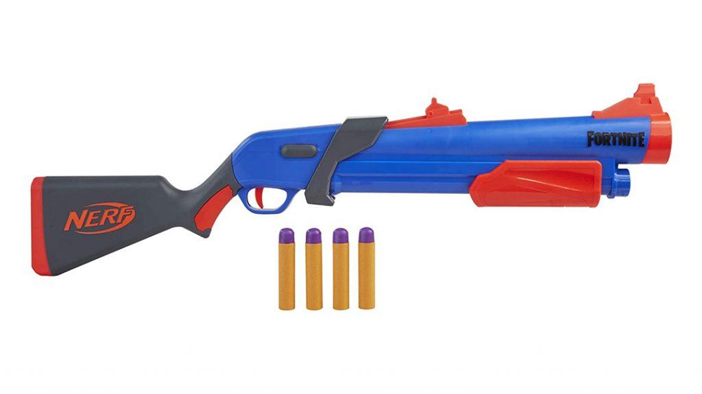 NERF Fortnite Pump SG Blaster, Nerf shotgun, fornite shotgun
