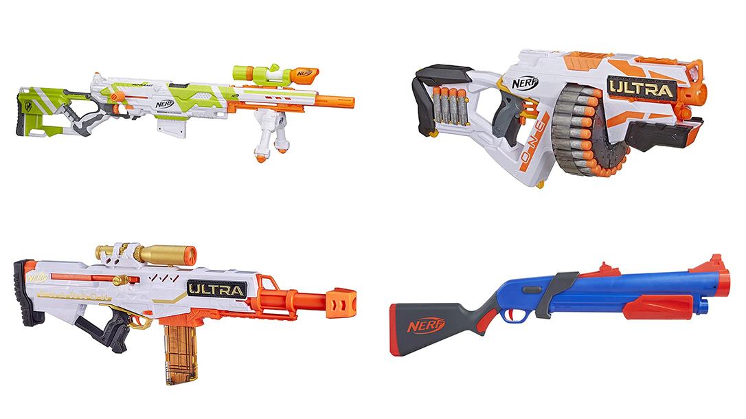 Nerf Guns, Nerf sniper rifle, nerf SMG, nerf Shotgun
