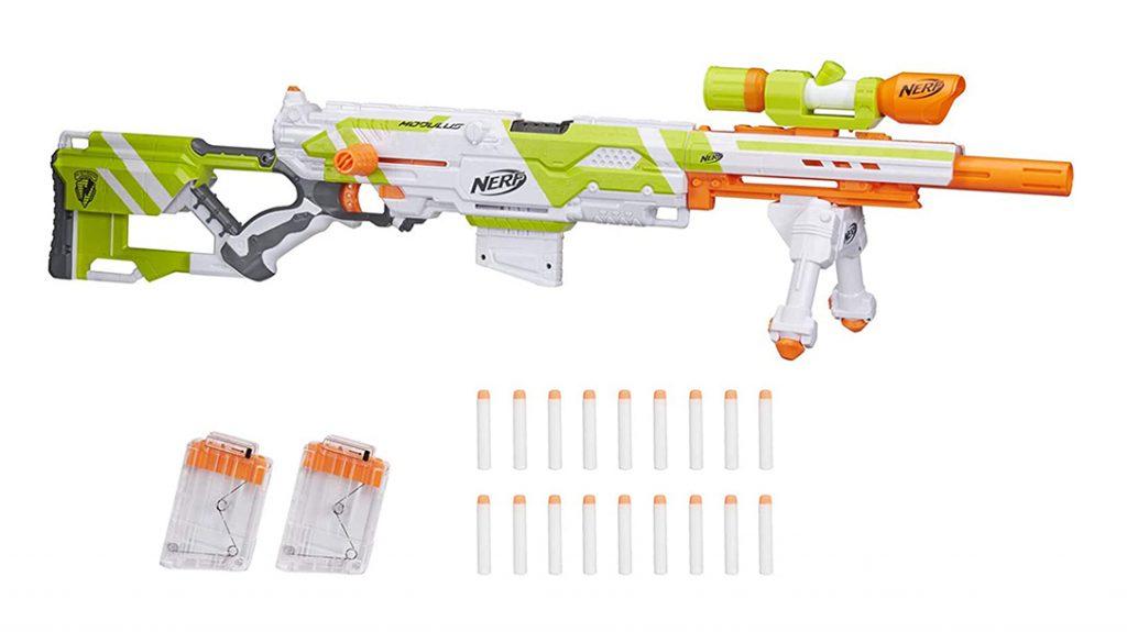 Nerf Longstrike Modulus Sniper Rifle, nerf guns
