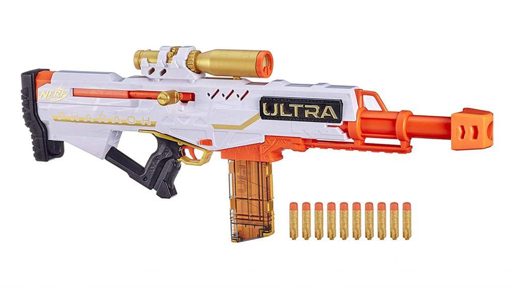 NERF Ultra Pharaoh Blaster, Nerg Guns