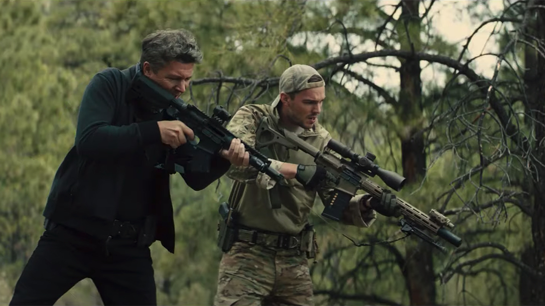 Those Who Wish Me Dead Trailer, guns