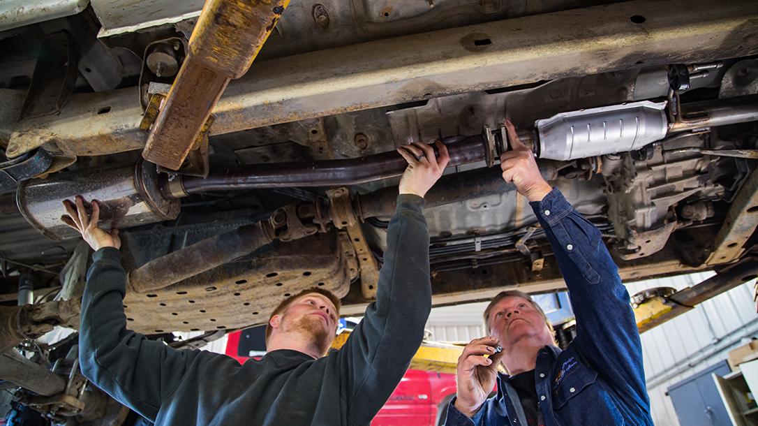 Magnaflow Exhaust System, installation tips, shop