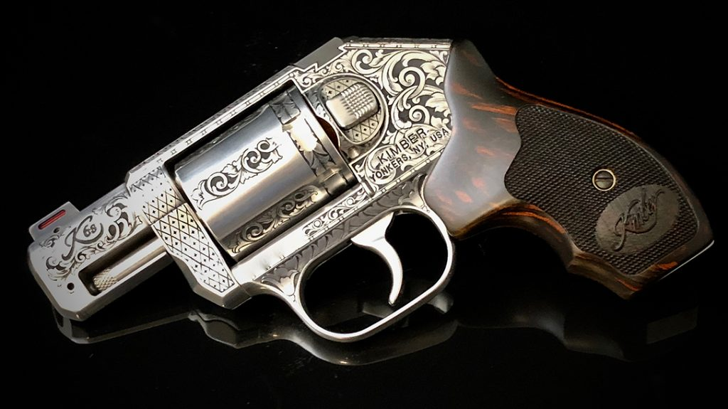 Gun Engraving, kimber revolver