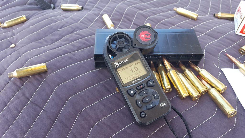 kelstrel ballistic reader, ammo, hunting