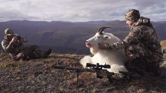 SIG Sauer Alaska Mountain Goat Hunt, SIG Cross hunt