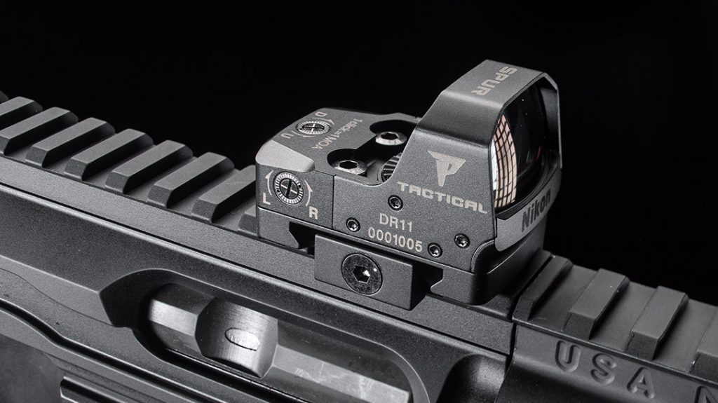 Nikon P-Tactical Spur Red Dot Sight 3 MOA with Picatinny Mount Matte