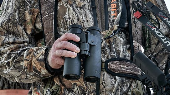 The new Bushnell Fusion X rangefinding binocular ranges out to one mile.