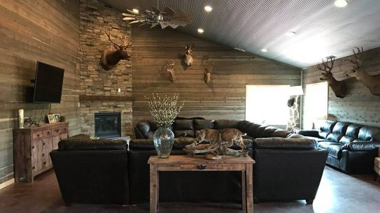 High Bar Homestead has trappings that make it feel like a comfortable ranch.