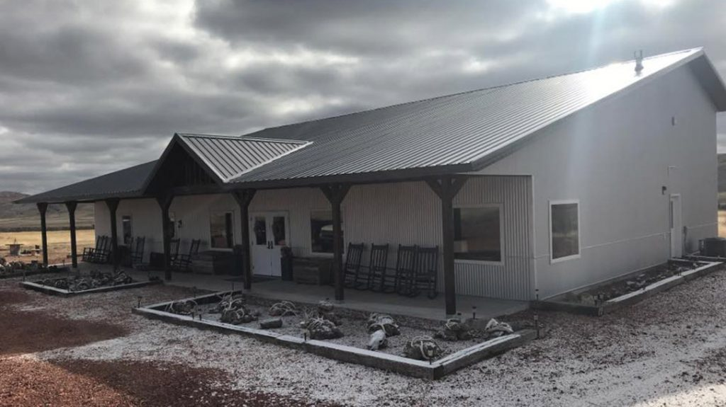 The High Bar Homestead is designed to merge form and function, for a comfortable yet performance driven stay.
