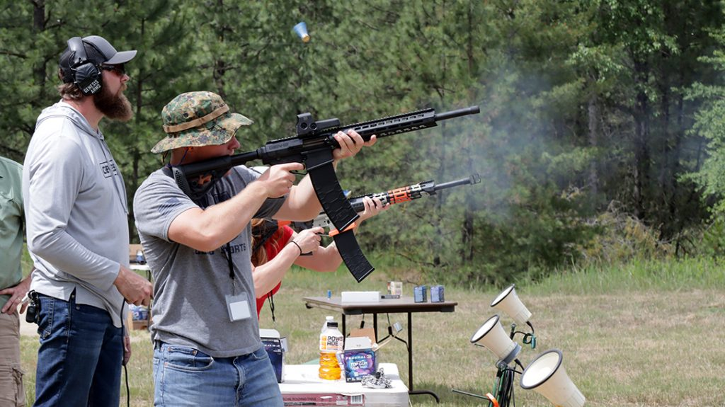 Taking on clay targets with the updated Genesis Arms Gen-12.
