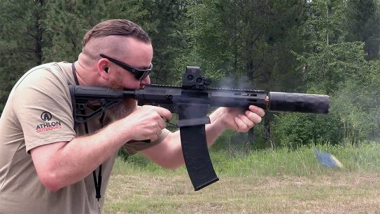 Improved recoil mitigation makes the Gen-12 handle well.