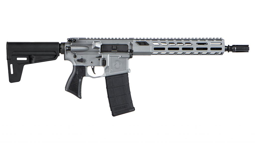 The M400 Switchblade puts rifle-caliber power into a pistol platform.