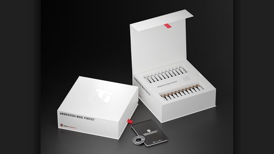 The True Velocity commemorative ammunition box set