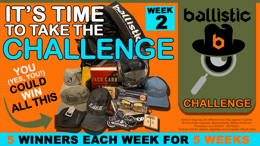 The Ballistic Challenge offers up great prizes for fans.