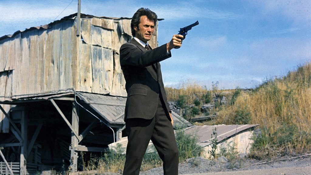 Dirty Harry shows why he is not to be reckoned with.