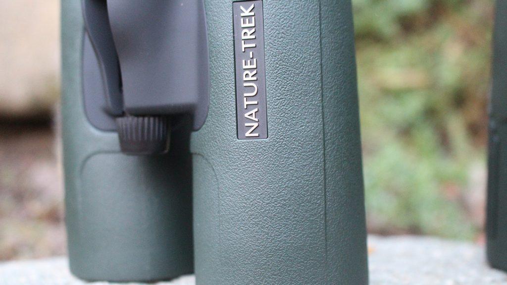 The Hawke Nature-Trek 8X42 binoculars focus knob.