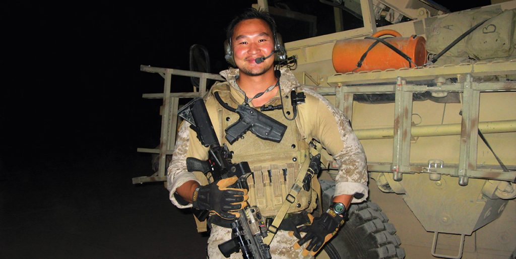 Before founding Ronin Tactics Tu served as a Green Beret.