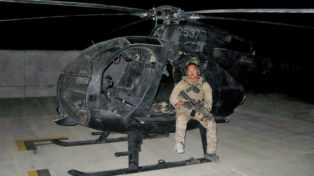 Tu during a tour of duty as a Green Beret.