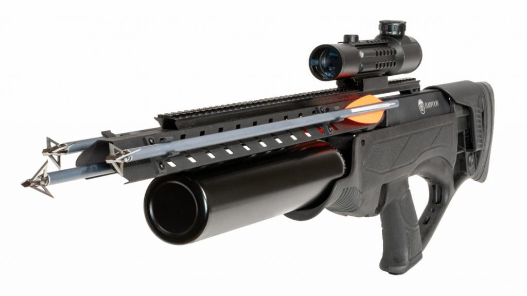 Hatsan's 600 FPS Arrow Rifle: The Harpoon cool factor in the top 10 hunting items