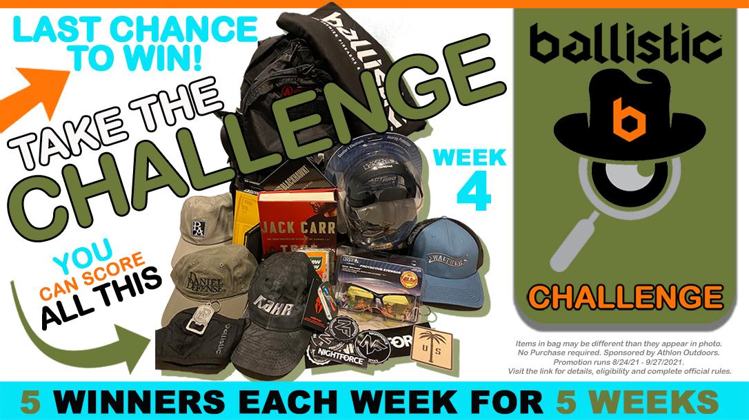Ballistic Challenge #4 promotion.
