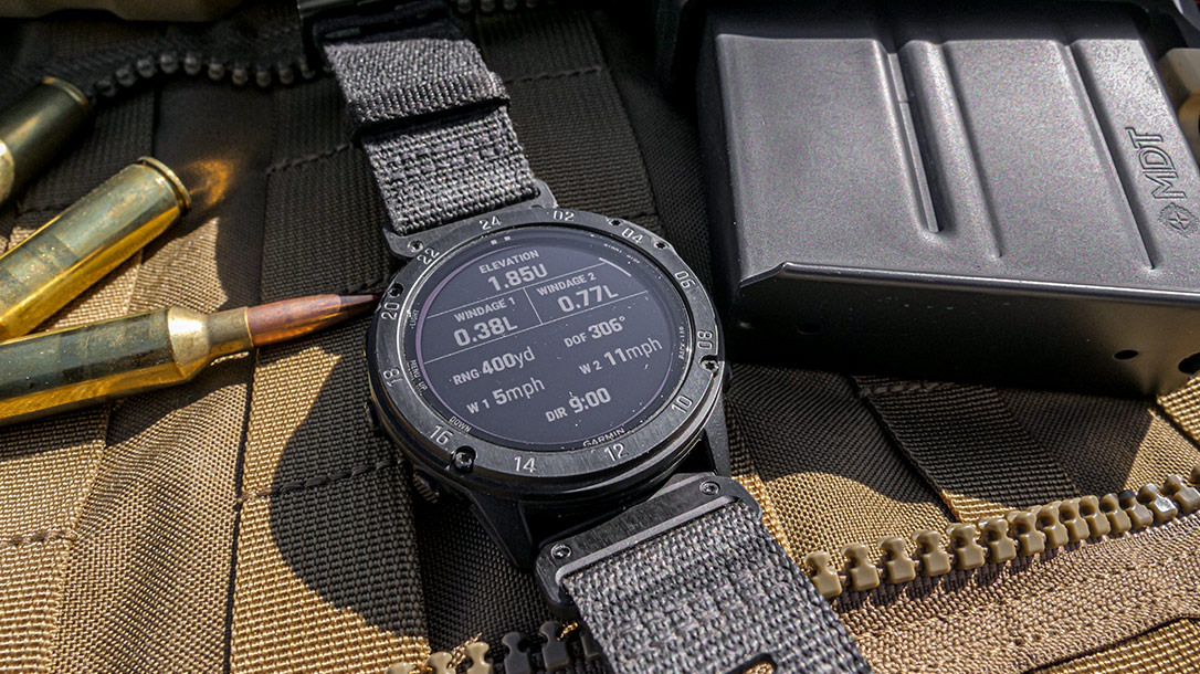 The Garmin Tactix Delta puts the power of ballistic information on your wrist.