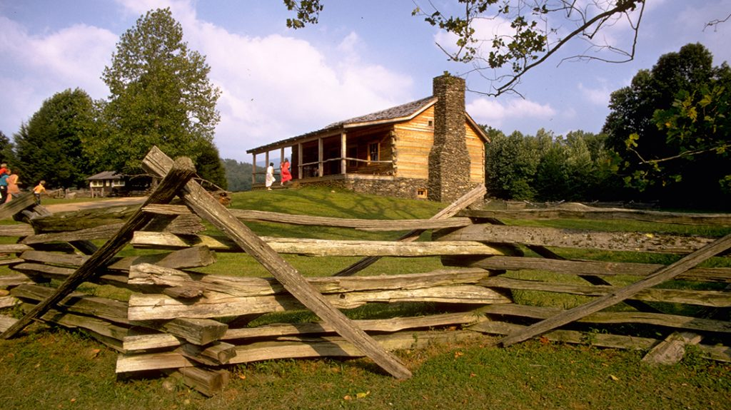 Horace Kephart's cabin still stands today and is visited by many throughout the year.