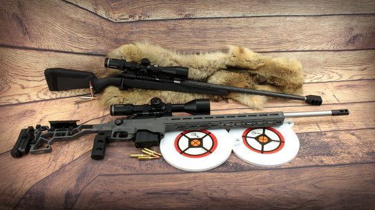 A tale of two Savage Model 110 rifles.