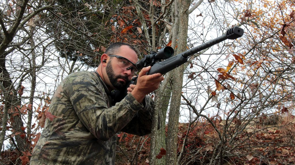 The Savage Ultralight is built for steady offhand shooting. Not necessarily benchrest grade accuracy you would look for in a target rifle. Still, the gun is plenty accurate to get the job done in the field or in the woods.