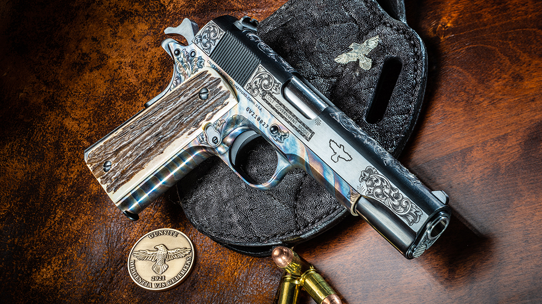 The Gunsite Colt Series 70 1911 from Tyler Fink is remarkable.