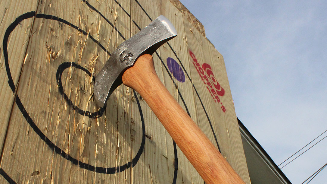 Hoffman Blacksmithing is widely popular for its axes.