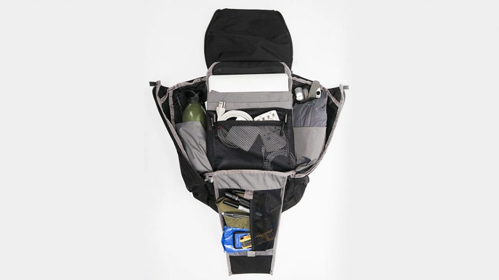 The Kitanica VESPID 30L Backpack has a lot of internal pockets.